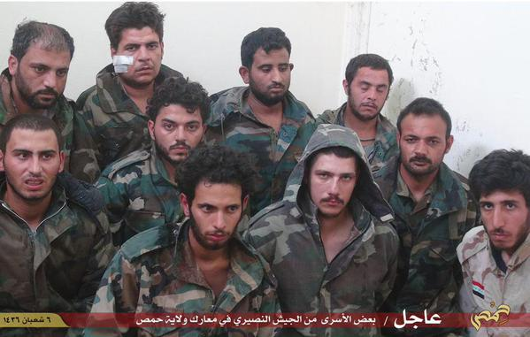 palmyra soldiers isis