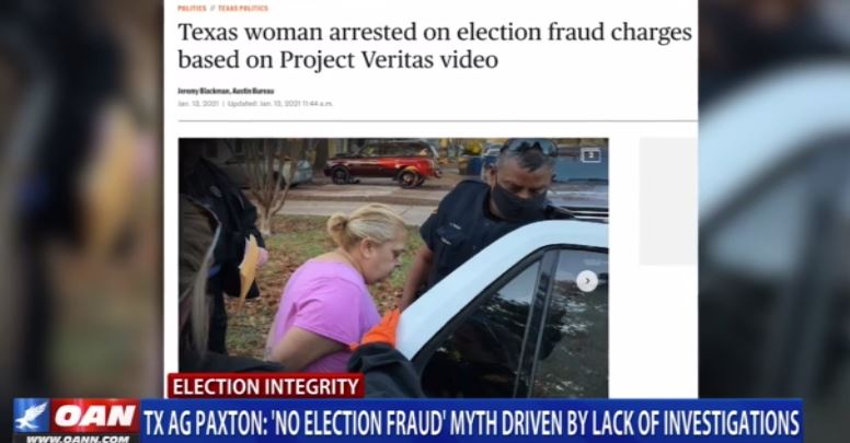 """TRUTH: Texas Attorney General Paxton Says """"No Election Fraud"""" Myth Is Driven By Lack of Investigations 2"""