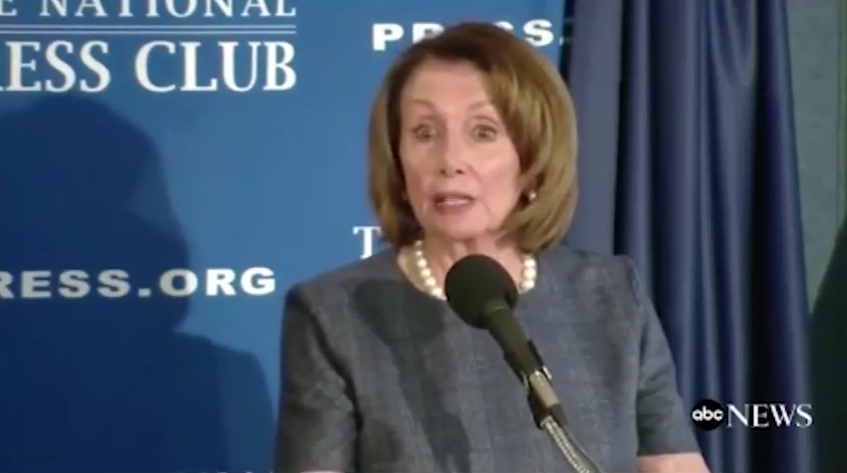 Pelosi Trashes Trump Supporters, Says: We Are Listening to Cases for Impeachment (VIDEO)