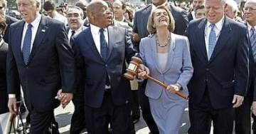 Nancy 'Crumbs' Pelosi Ripped After Media Reports Her Taking House Democrats out for Dinner Party as Troops Pay Price for #SchumerShutdown
