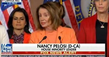 """LIAR PELOSI SPITS ON TROOPS: """"We Want Them to Have Resources to Keep Them Safe"""" — But Democrats Shut Down Government for Illegals! (VIDEO)"""