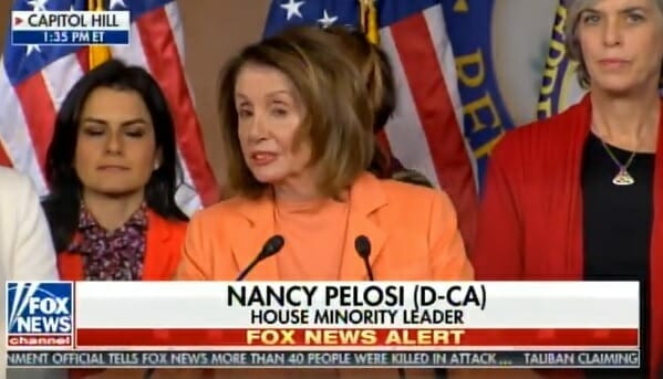 "photo image TRUMP Trolls Democrats: ""Please Do Not Distance Yourselves From Nancy Pelosi – Should Definitely Be Given a 4th Chance"""
