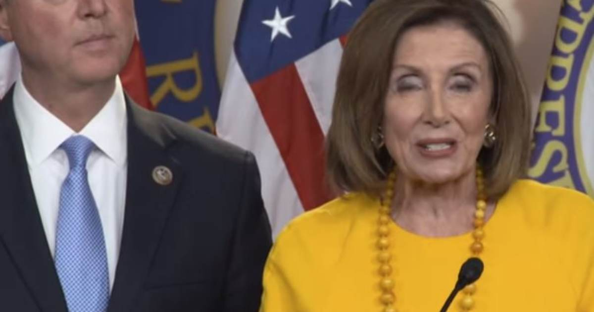 """photo image COUP UPDATE: Pelosi and Schiff Updated House """"Impeachment Process"""" on August 12, 2019 – The Same Day as…"""