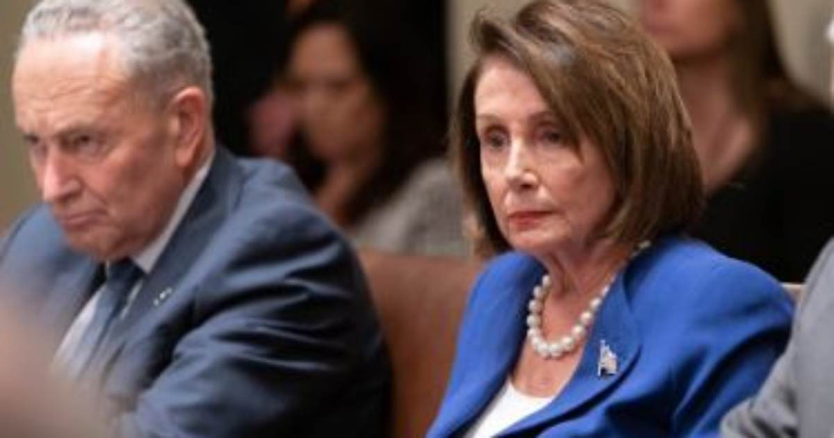 "BOOM! Trump Trolls Unhinged ""Nervous Nancy"" Pelosi After her Public Meltdown in Oval Office!"