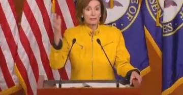 """'Nasty' Pelosi Trashes and Smears President Trump Again: """"He Does Not Know Right From Wrong… Has Been Involved in a Criminal Cover-Up""""  (Video)"""