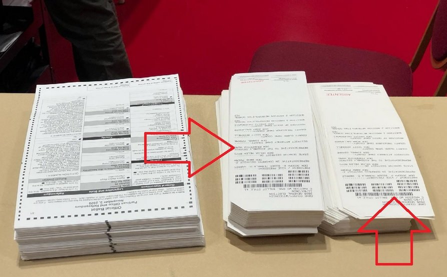 BREAKING EXCLUSIVE: THOUSANDS of Fake Votes Found at Wisconsin Recount in Dane County — Photos and Report from GOP Observer