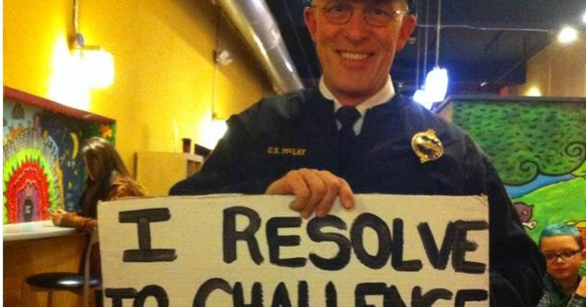 Pittsburgh Police Chief Sides with Radical Protesters - Holds Sign Calling Cops Racist
