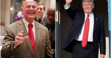"""TRUMP GOES ALL IN=> POTUS Calls Judge Moore Aboard Air Force One: """"Go Get 'Em Roy!"""""""