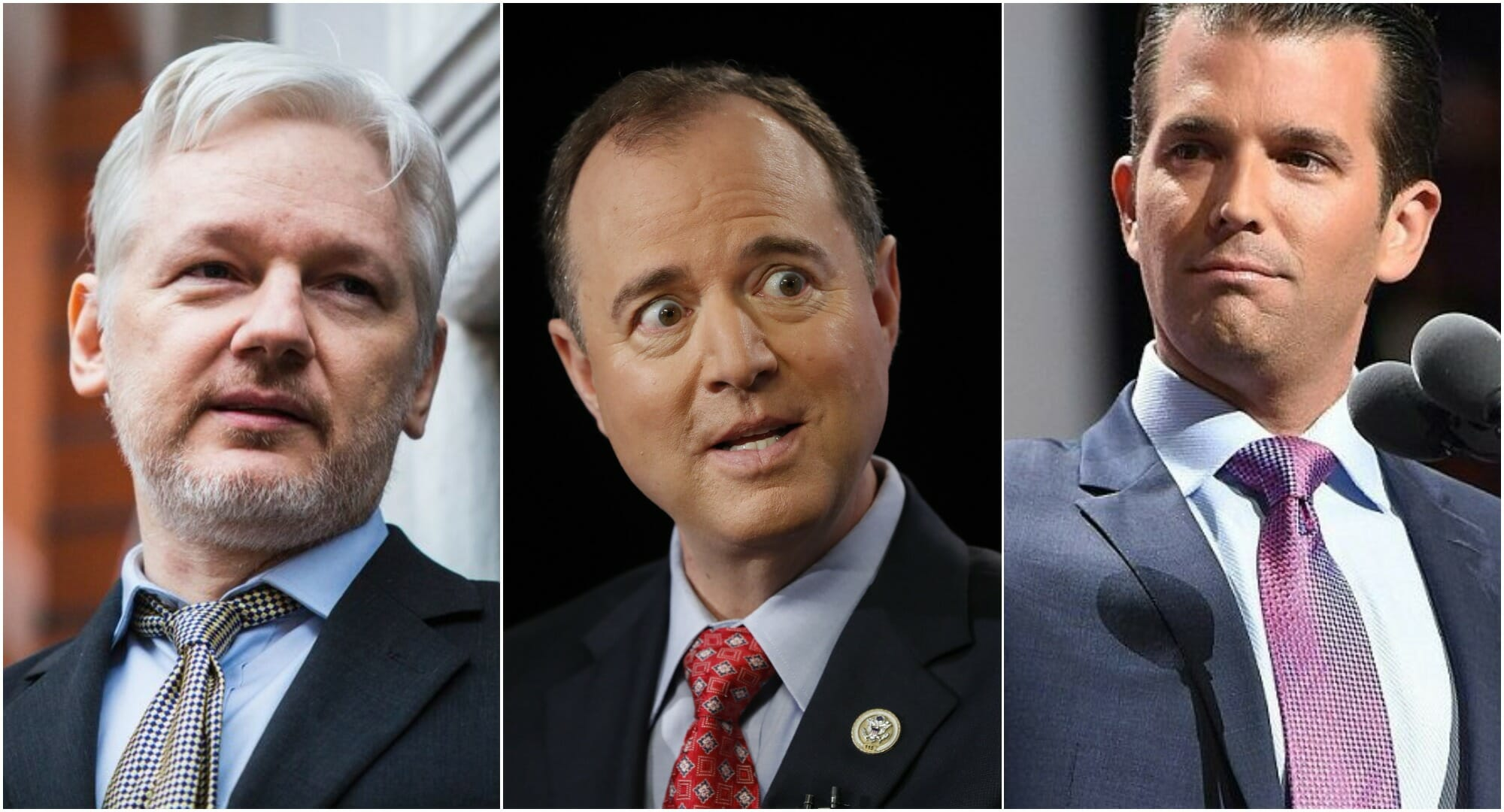 Why It's Becoming Increasingly Obvious Adam Schiff Probably Leaked Trump Jr.-WikiLeaks #FakeNews To CNN