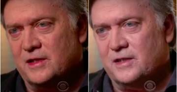Hmm…CBS Denies Altering Bannon's Camera Appearance – Despite Compelling Evidence
