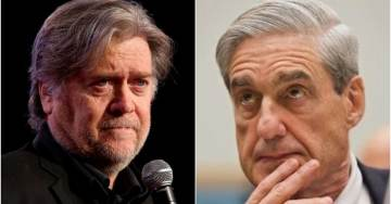 "In Witch Hunt ""First,"" Robert Mueller Subpoenas Steve Bannon To Testify Before a Grand Jury"