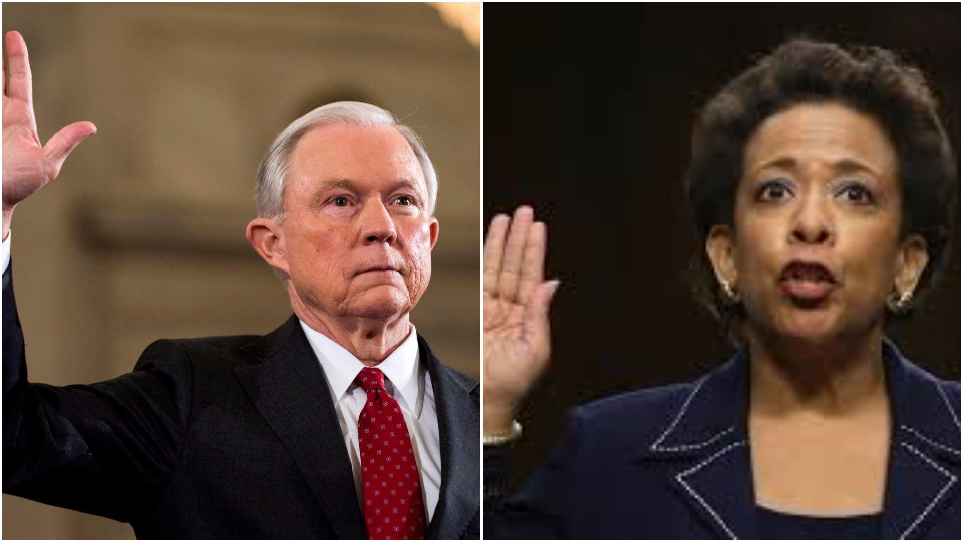 photo image SWAMP: AG Sessions DEFENDS Loretta Lynch's Use of Email Alias