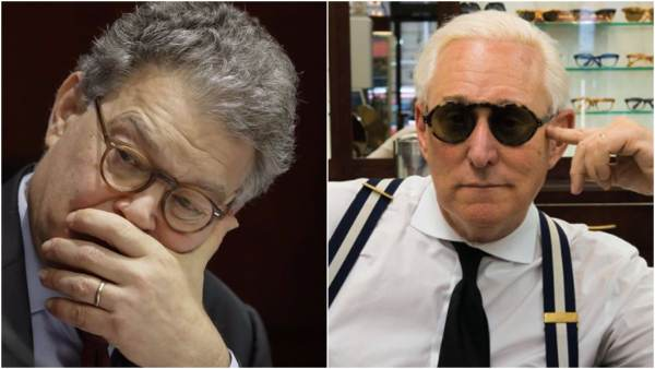 Is Roger Stone the Mastermind BehindAl Franken's Sexual Harassment Scandal? (VIDEO)