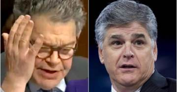 SEAN HANNITY: 'Unhinged' Al Franken Harassed Me — Security Was Forced To Step In (AUDIO)
