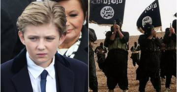 ISIS Calls for Assassination of Barron Trump After Posting His Personal Details Online