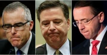 McCabe Speaks: I Pressured Rosenstein To Appoint Special Counsel After Comey Was Fired