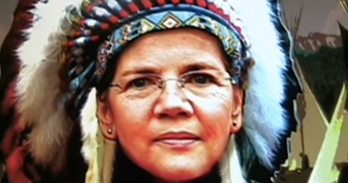 """Elizabeth 'Pocahontas' Warren Admits She Is """"Not a Person of Color"""""""