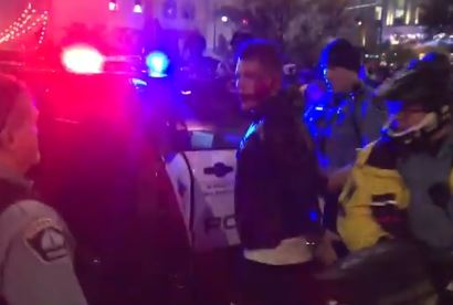 CONFIRMED!… BREAKING–> Ilhan Omar and Lover Tim Mynett Were Seen at the MN Trump Riots! PHOTOS AND VIDEO — (Facial Recognition Confirmation) ..UPDATE
