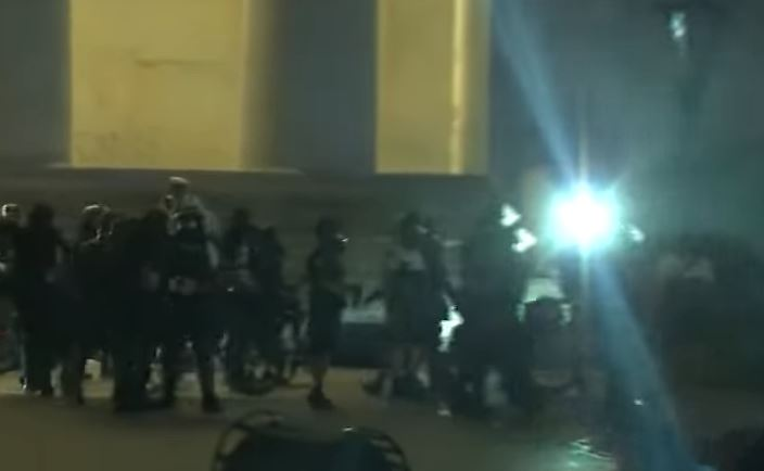 BREAKING: Violent BLM Mob Breaks Into Columbus, Ohio Police Station — Pepper Spray Police Officer!