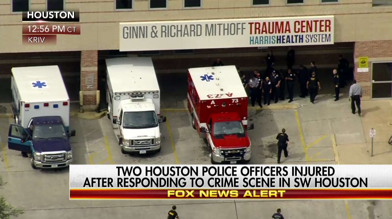 BREAKING: Houston Police Officers Shot After Responding To Burglary Call