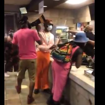 Get Woke, Get Looted. BLM mobs a McDonald's and harasses then attacks the all black staff that works there. I'll bet McDonald's feels like all that (mafia protection) donation money they gave BLM was really well spent. (video) (thegatewaypundit.com)