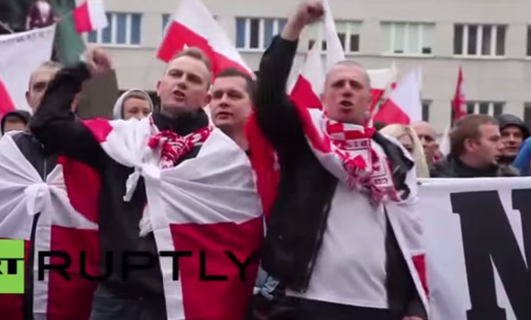 protest poland immigration