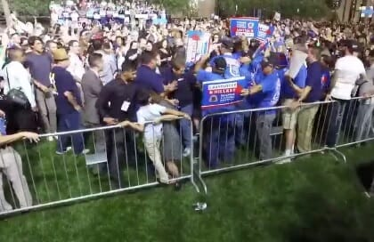 protester-beaten-hillary-rally