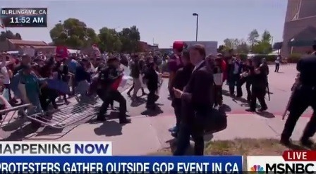 protesters storm gop