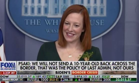 Smug Jen Psaki Announces Any 10-Year-Old in the World Who Makes It Across the US Southern Border Will Be Allowed to Stay Here (VIDEO)