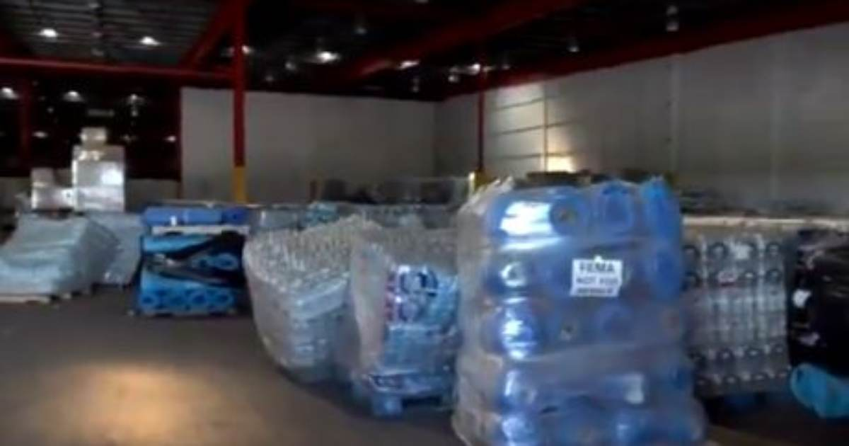 Trump Was Right! Warehouse in Puerto Rico Discovered this week FILLED with US Survival Aid for Hurricane Maria (VIDEO)