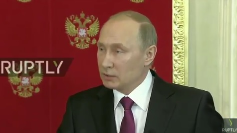 Putin Claims More Chemical Attacks Are Being Planned to Frame Russian President (VIDEO)