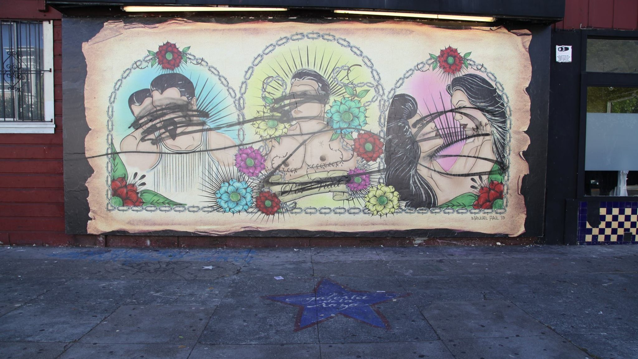 queer cholo mural