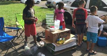 PATHETIC: Teens Arrested for Robbing Nine-Year-Old's Lemonade Stand
