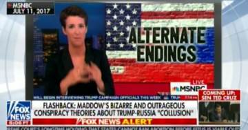 EPIC! Hannity DUNKS on MSNBC Hack Rachel Maddow — Posts Stunning Compilation of Her Most Unhinged Lies (VIDEO)