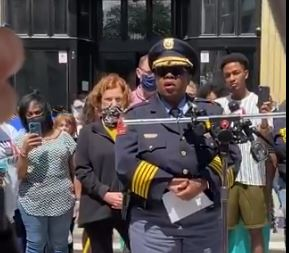 You're On Your Own: Raleigh Police Chief Says She Will Not Put Officers in Harm's Way to Protect Property