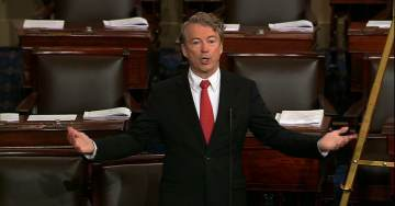 """DNC Lawmakers Hurl Threats at Rand Paul During Filibuster: """"Someone Needs to Fly his Neighbor up Here"""""""
