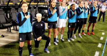 "AWFUL: US Women's Soccer Star and Outspoken Lib Megan Rapinoe Says Her Kneeling During Anthem Is a ""F*ck You"" to Trump"
