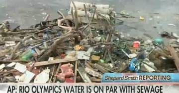 Rowers, Swimmers at Rio Olympics Will Compete in Raw Sewage from Toilets – 1.7 Million Times Above Hazardous Levels