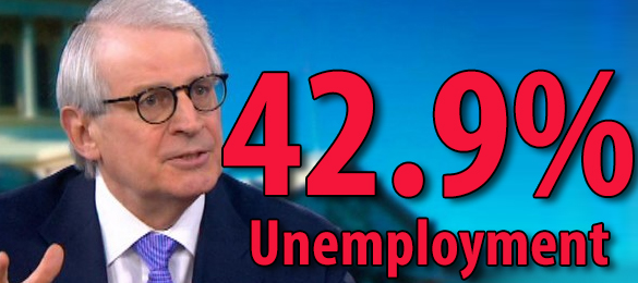 """Federal Reserve Vice Chairman Says Economy Is Nearing """"Full Unemployment"""" …Real Unemployment Closer to 42.9%"""