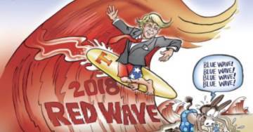 RED WAVE RISING!  Early Returns Continue to Indicate Massive Republican Turnout