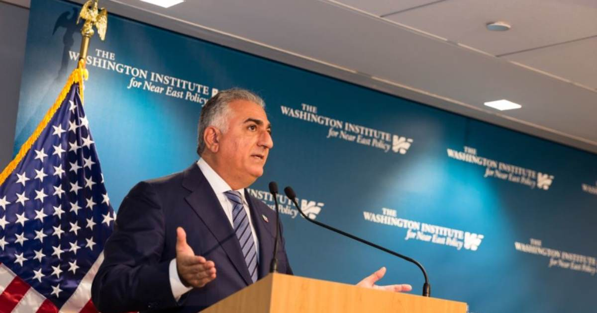 Iranian Crown Prince Reza Pahlavi: After 39 Years of Suffering and Terror the West Must Embrace Regime Change in Iran