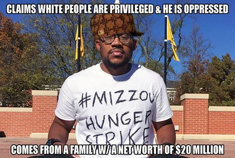 MIZZOU HUNGER STRIKER