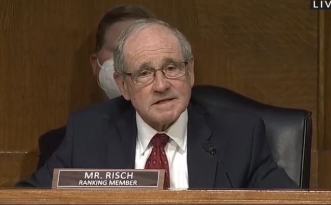 """""""Who Cuts Off - President's Microphone?"""" - Senator Risch Grills Blinken During Senate Testimony - Blinken Lies and Says Americans Are Making This Up (VIDEO)"""