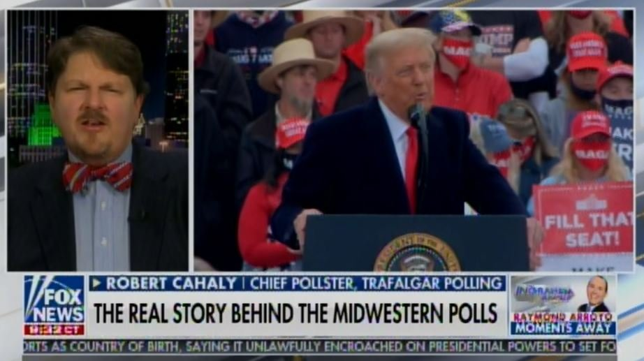 IT'S HAPPENING! Trump Now Up in Michigan, Florida, Pennsylvania and Tied in Wisconsin — And Black, Hispanic and Evangelical Vote Is UP from 2016!