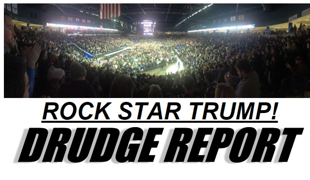 Rock Star Trump - Shot at Massachusetts Rally TRULY AMAZING!