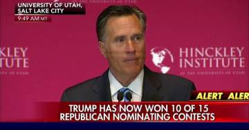 *Ugh* Never-Trump Leader Mitt Romney Attacks President Trump for Pointing Out John McCain Lied about Obamacare