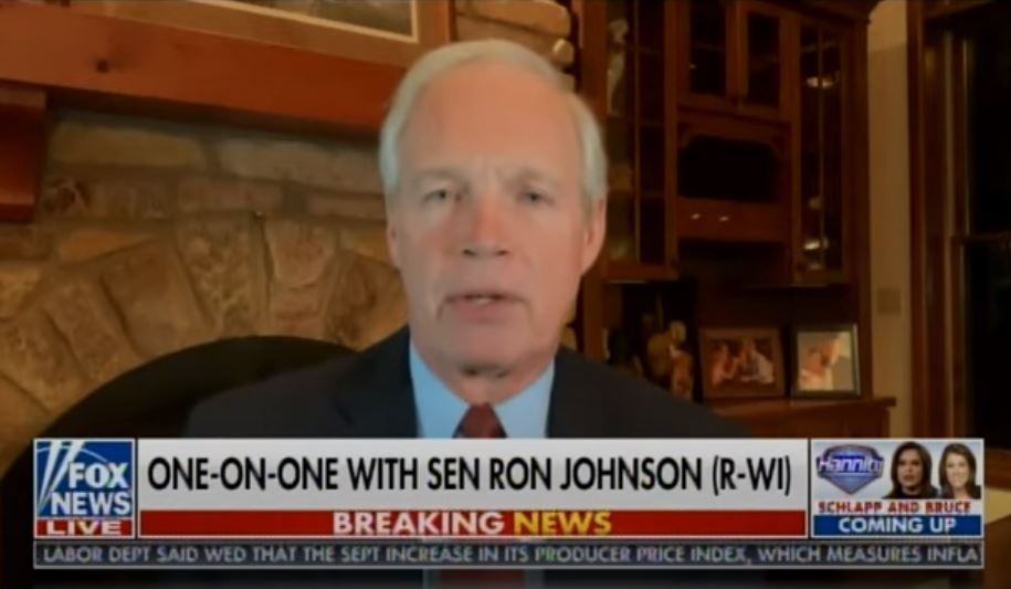 """""""The Whistleblower Delivered Computer to the FBI. What did They Do With It?"""" - Senator Ron Johnson Admits Hunter Biden Computer Whistleblower Contacted His Senate Committee (VIDEO)"""