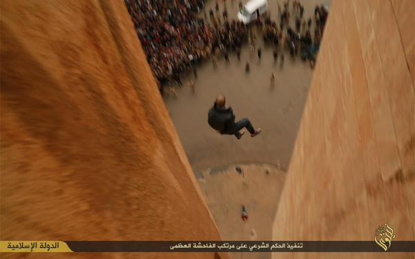 ISIS Mocks SCOTUS Gay Marriage Decision With Video Tossing Gays Off a Roof #LoveWins