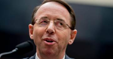 Dirty Cop Rosenstein Denies He Wanted to Secretly Tape President Trump — But Signed FISA Doc to Spy on Trump in June 2017