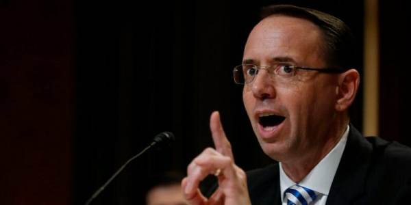 "photo image Rep Gaetz: Rosenstein's Threats Left Congressional Staff Members ""Physically Shaking in My Office"" In Fear For…"
